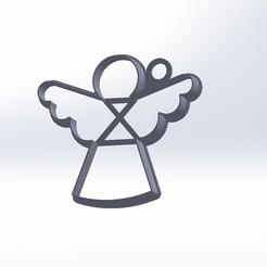 Descargar modelos 3D Cutter Cokkie Angel, federicoandrades