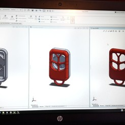 Download 3D printing designs Housing Remote Control PST P40, federicoandrades