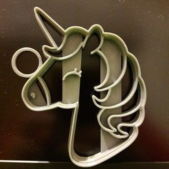 stl Cookie Unicorn Cutter Cookie, federicoandrades