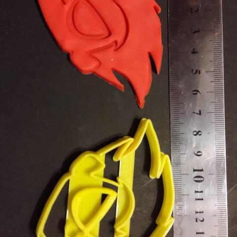 robin resultado.jpg Download STL file Teen Titans Go Robin Face Cutter Cokie • 3D printing template, federicoandrades