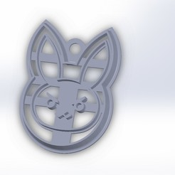 Télécharger fichier impression 3D Cutter Cookie Biscuit Bad Rabbit, federicoandrades