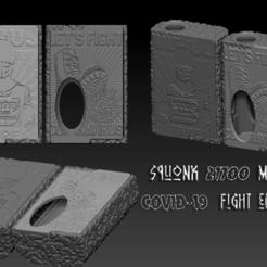 ZBrush Document1.png Download STL file Squonk Mech Mod Covid-19 Fight Edition • 3D printer object, JuanCruzGuimil-OnaModsBF