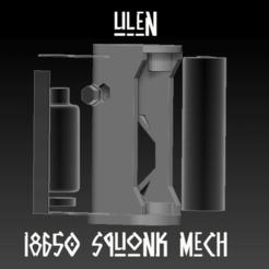 "ZBrush Document 07.png Download STL file Squonk Mech Mod ""Ulen"" • 3D printable object, JuanCruzGuimil-OnaModsBF"