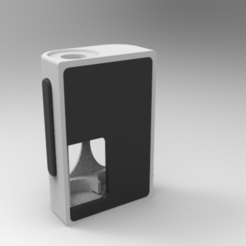 "clean1.png Download STL file Squonk Mech Mod ""Koshmenk"" 18650 • 3D printable object, JuanCruzGuimil-OnaModsBF"