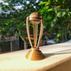 Download free 3D printer templates World cup ICC 2019, natraj
