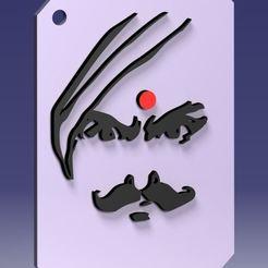 Download free 3D printer designs Bharathiyar Key chain, Natraj