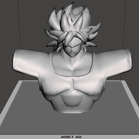 Download 3D printing models Broly Bust - Dragon Ball Super Broly, vongoladecimo