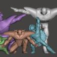 Télécharger fichier 3D gratuit Guldo - Dragon Ball Z - Ginyu Forces 3/5, vongoladecimo