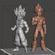 Télécharger fichier STL gratuit Balle de dragon - Gohan ssj2 • Modèle pour impression 3D, vongoladecimo