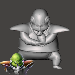 Download free 3D printer files Guldo - Dragon Ball Z - Ginyu Forces 3/5, vongoladecimo