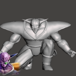 Télécharger fichier impression 3D gratuit Capitaine Ginyu - Dragon Ball Z - Ginyu Forces 1/5, vongoladecimo