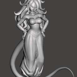 Imprimir en 3D Android 21 Majin Form - twenty One Android - Dragon Ball Super, vongoladecimo