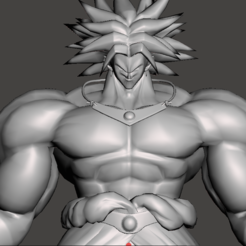 Download free STL Broly - Dragon Ball Z, vongoladecimo