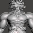 Descargar STL gratis Broly - Dragon Ball Z, vongoladecimo