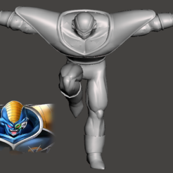 Descargar modelos 3D gratis Burter - Dragon Ball Z - Ginyu Forces 2/5, vongoladecimo
