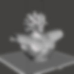 Télécharger fichier STL gratuit Buste de Broly - Dragon Ball Super Broly • Objet imprimable en 3D, vongoladecimo