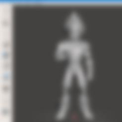 Télécharger fichier STL gratuit Vegeta - Super Saiyan Armor • Objet imprimable en 3D, vongoladecimo