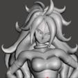 Imprimir en 3D gratis Android 21 Majin Form - twenty One Android - Dragon Ball Super, vongoladecimo