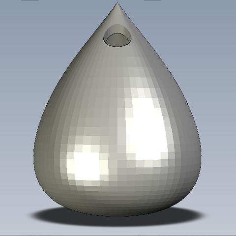 Vase_goutte2.PNG Télécharger fichier STL gratuit Le vase goutte • Plan pour impression 3D, pvalaye