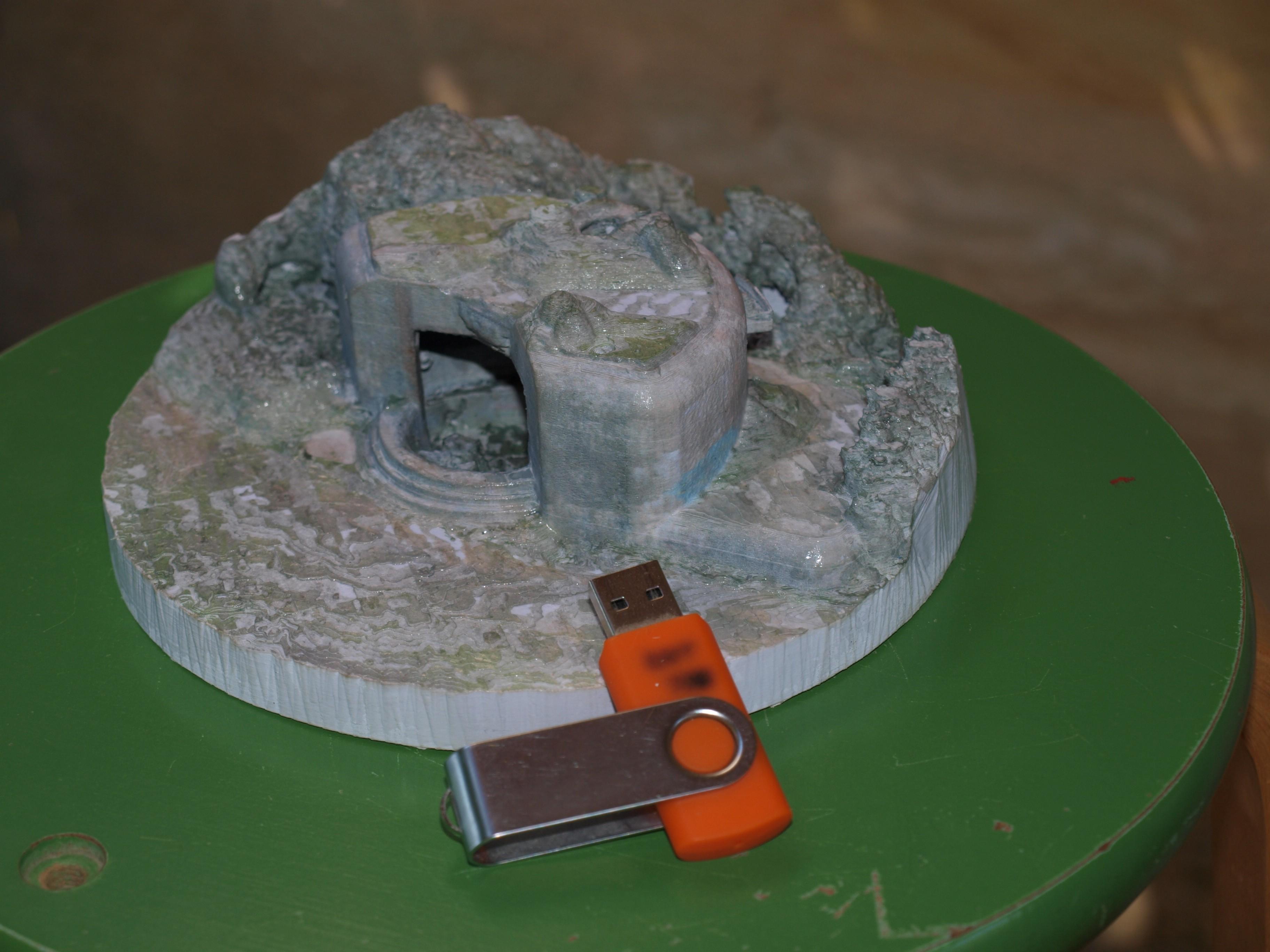 P1018881.JPG Download STL file French Bunker, second world war • 3D printable model, 3DLOUIS