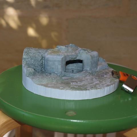 P1018879.JPG Download STL file French Bunker, second world war • 3D printable model, 3DLOUIS