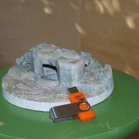 P1018880.JPG Download STL file French Bunker, second world war • 3D printable model, 3DLOUIS