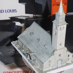 Objet 3D CHURCH, 3DLOUIS