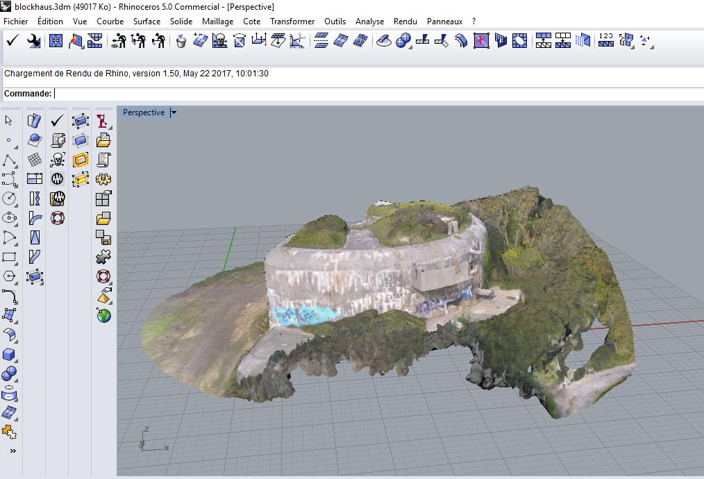blockaus.PNG Download STL file French Bunker, second world war • 3D printable model, 3DLOUIS