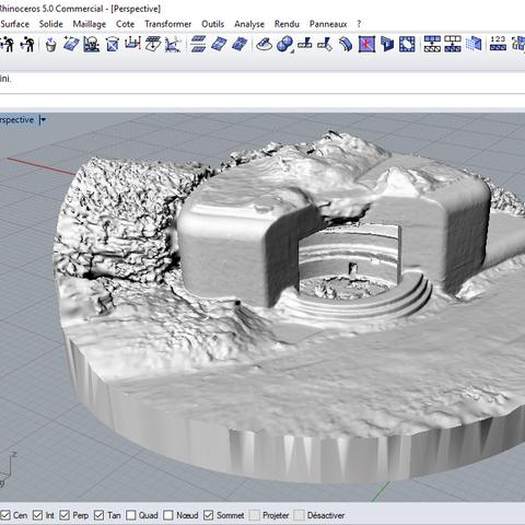 blockaus_stl.PNG Download STL file French Bunker, second world war • 3D printable model, 3DLOUIS