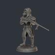 Download 3D printing templates Tank Hunter, supahero
