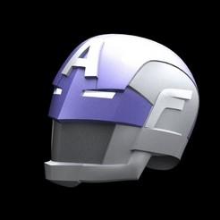 Download free 3D printing designs Civil Warrior / Hydra Captain America Helmet, sentinel_props