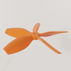 4.png Download STL file Full parametric propellers for drones • Design to 3D print, Alessandro_Palma