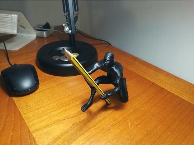 6cbd948573f3302f8f49050fd8922ce2_preview_featured.jpg Download OBJ file Human pen holder V1.0 • 3D printer template, Alessandro_Palma
