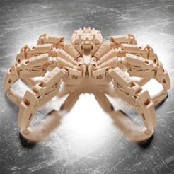 Download STL files Spider Robot, Alessandro_Palma