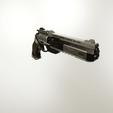 Descargar modelos 3D para imprimir Pistola de revólver futurista, Alessandro_Palma