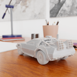07.png Download STL file Time Machine DeLorean DMC-12 from Back to the future • 3D printing model, Alessandro_Palma