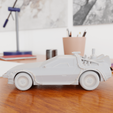 04.png Download STL file Time Machine DeLorean DMC-12 from Back to the future • 3D printing model, Alessandro_Palma