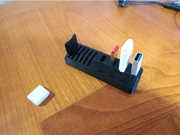 43cc69f88ee7a7dd1669a1280ec087d3_preview_featured.jpg Télécharger fichier STL gratuit Support de microSD USB-SD-MicroSD • Modèle à imprimer en 3D, Alessandro_Palma