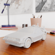 01.png Download STL file Time Machine DeLorean DMC-12 from Back to the future • 3D printing model, Alessandro_Palma