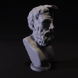 Download STL file Greek ruins bust • 3D print design, Alessandro_Palma