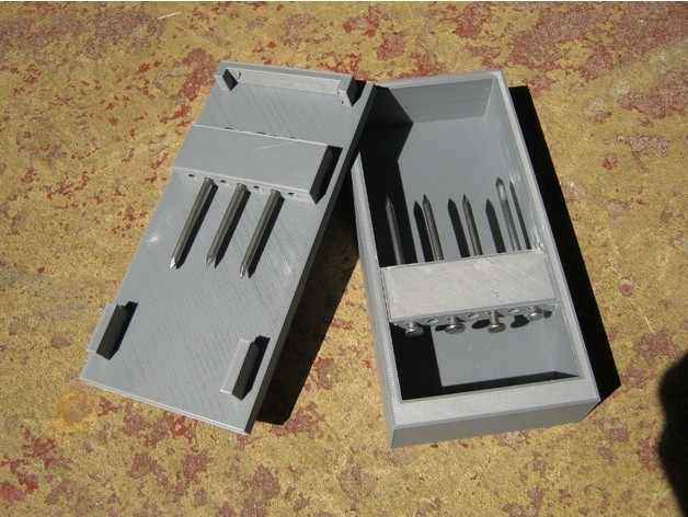 e9fa441a885f260876fc4e25db05d894_preview_featured.jpg Download free STL file Nail Puzzle Box • Object to 3D print, amarkin