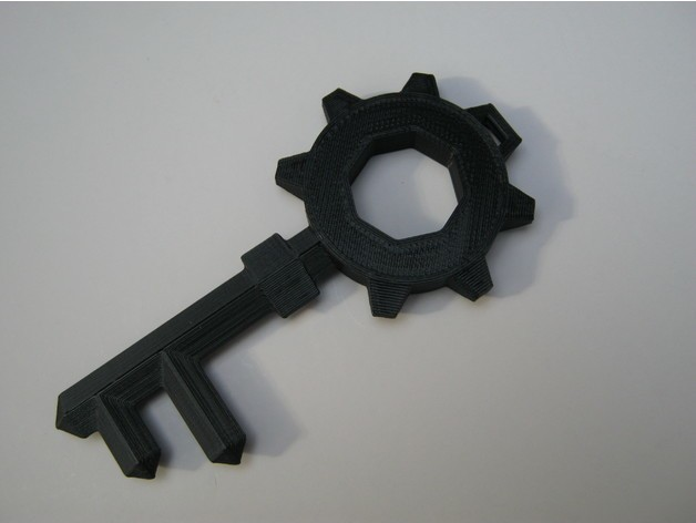 95af7a12f1f3548ec24f37e77e37021f_preview_featured.jpg Download free STL file The Legend of Zelda: Twilight Princess Small Key • 3D printer object, amarkin