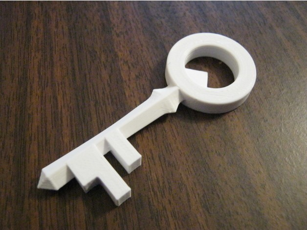 d160e664c06b09692f53e7085b23ced9_preview_featured.jpg Download free STL file The Legend of Zelda: Skyward Sword Small Key • 3D printer model, amarkin