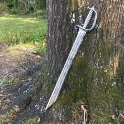 IMG_0646.JPG Download free STL file Blackbeard Sword from POTC (Triton Sword) • 3D printable design, amarkin