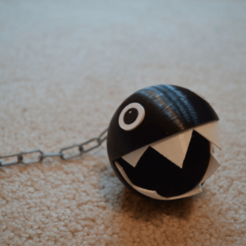 Capture d'écran 2018-06-27 à 16.48.00.png Download free STL file Super Mario Chain Chomp • 3D printable template, amarkin