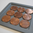 Free STL file 10 Penny Puzzle, amarkin