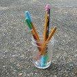 Free 3D print files Pencil Caps (Lead Protectors), amarkin