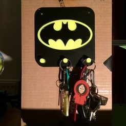 Download 3D model Batman Keychain / Holder, VV-Albator