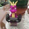 Download 3D printer templates Spyro PS4, Xbox one, enriquemedinatajuelo