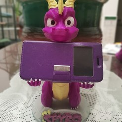 3D printing model Spyro PS4, Xbox one, enriquemedinatajuelo